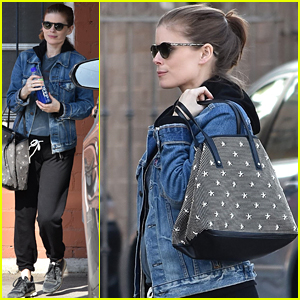 Kate Mara's Tiny Baby Bump is Starting To Show