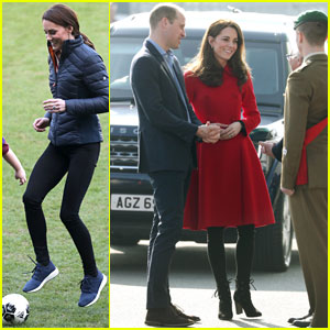 Duchess Kate Middleton Plays Soccer with Kids in Fun New Photos!