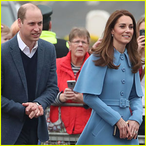 Kate Middleton & Prince William Kick Off Day Two in Northern Ireland