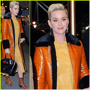 Katy Perry Checks Out 'To Kill a Mockingbird' on Broadway!