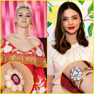 Did Orlando Bloom Give Katy Perry a Ring That Is Almost Identical to Ex Miranda Kerr's Ring?