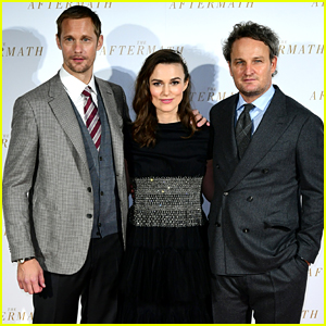 Keira Knightley Premieres 'The Aftermath' in London with Alexander Skarsgard & Jason Clarke!
