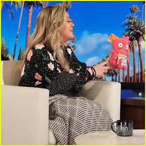 Kelly Clarkson Debuts Star-Studded 'UglyDolls' Trailer on 'Ellen' - Watch Here!