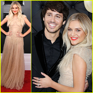 Kelsea Ballerini Gets Support From Husband Morgan Evans at Grammys 2019