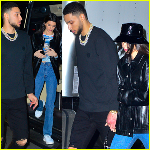 Kendall Jenner & Ben Simmons Hold Hands on Early Valentine's Day Date!