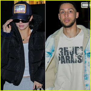 Kendall Jenner & Boyfriend Ben Simmons Arrive in NYC!