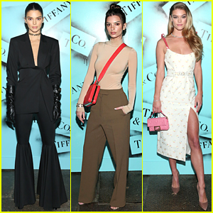 Kendall Jenner, Emily Ratajkowski & Nina Agdal Attend Tiffany & Co Photo Exhibition
