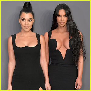 Kim & Kourtney Kardashian Slay at amfAR New York Gala 2019