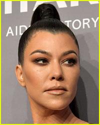 Kourtney Kardashian Runs Into Ex Boyfriend Younes Bendjima & There Are Photos