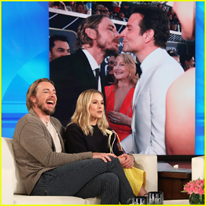 Kristen Bell Says Hubby Dax Shepard Has 'Sweet Bromance' With Bradley Cooper