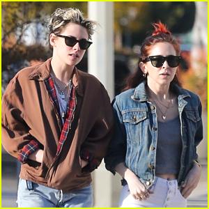 Kristen Stewart & Sara Dinkin Are A Denim Duo