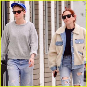 Kristen Stewart & Rumored Girlfriend Sara Dinkin Spend the Day at the Spa