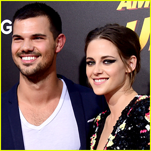 Kristen Stewart & Taylor Lautner Reunite at His Birthday Party!