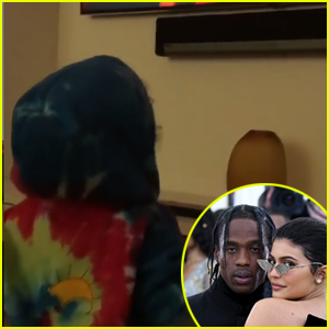 Kylie Jenner Shares Video of Daughter Stormi Watching Travis Scott's Super Bowl 2019 Halftime Performance - Watch!