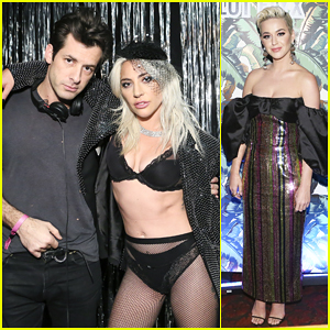 Lady Gaga & Mark Ronson Celebrate Big Wins at 'Club Heartbreak' Grammys After Party!