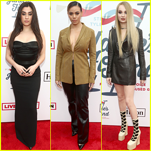 Lauren Jauregui, Dinah Jane, & Kim Petras Team Up for Steven Tyler's Grammys 2019 Viewing Party!