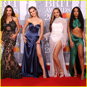 Little Mix Arrive In Style For BRIT Awards 2019