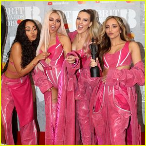 Little Mix Rock Pink Outfits For BRIT Awards 2019 Performance & Win