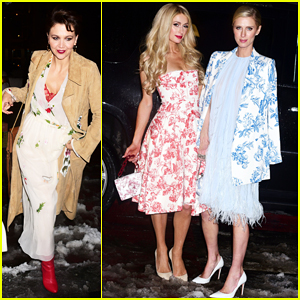 Maggie Gyllenhaal, Paris Hilton & More Step Out for Oscar De La Renta NYFW Show!