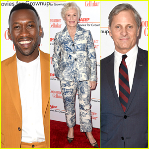 Mahershala Ali, Glenn Close, & Viggo Mortensen Hit AARP's Movies for Grownups Awards Red Carpet