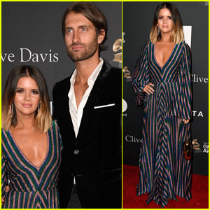 Maren Morris is Joined by Husband Ryan Hurd at Clive Davis' Pre-Grammys Party