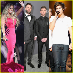 Mariah Carey Confuses The Chainsmokers for One Direction!