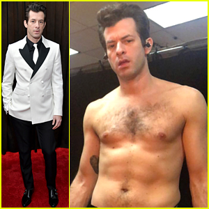 Mark Ronson Goes Shirtless, Bares Abs Before Grammys 2019!