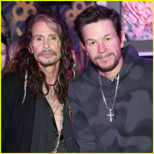 Mark Wahlberg Steps Out for Steven Tyler's Grammys 2019 Viewing Party!