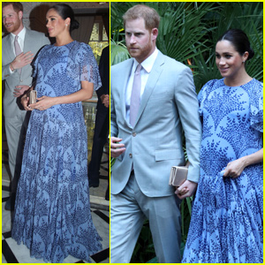 Meghan Markle Prince Harry Meet With The King Of Morocco
