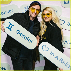 Meghan Trainor & Husband Daryl Sabara Celebrate Valentine's Day With Bumble!