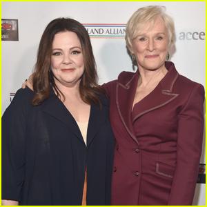 Melissa McCarthy Joins Glenn Close at Oscar Wilde Awards 2019