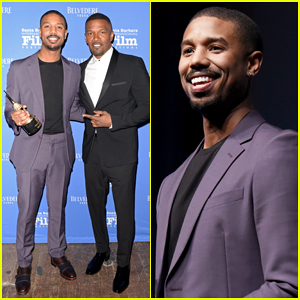 Michael B. Jordan Honored with Cinema Vanguard Award at Santa Barbara Film Fest!