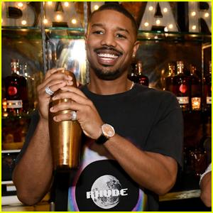 Michael B. Jordan Mixes Up Drinks with Bacardi in NYC!