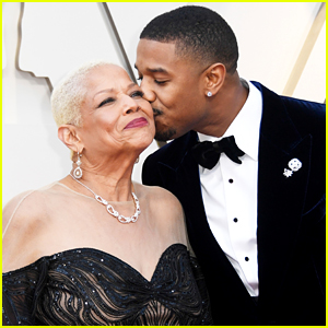 Michael B. Jordan Brings His Mom as His Date to Oscars 2019!