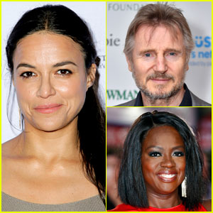Michelle Rodriguez Defends Liam Neeson, Cites His 'Widows' Kiss with Viola Davis: 'You Can't Call Him a Racist'