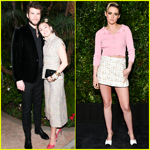 Miley Cyrus, Liam Hemsworth & Kristen Stewart Attend Chanel Oscars Pre-Party!