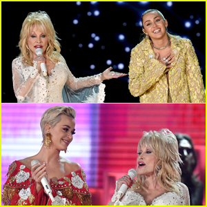 Miley Cyrus, Katy Perry, & More Pay Tribute to Dolly Parton at Grammys 2019 - Watch Here!