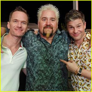 Neil Patrick Harris & David Burtka Hang with Guy Fieri & More Celeb Chefs!