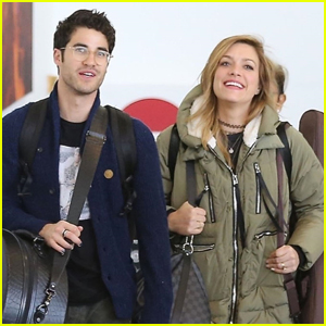 Newlyweds Darren Criss & Mia Swier Return to L.A. After Wedding!