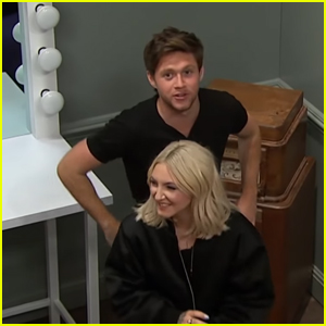 Niall Horan & Julia Michaels Get Stuck in Escape Room - Watch Here!