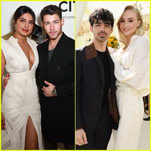 Nick Jonas, Priyanka Chopra, Joe Jonas, & Sophie Turner Step Out for Pre-Grammys Events!