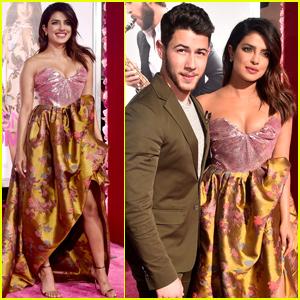 Nick Jonas & Priyanka Chopra Couple Up For 'Isn't It Romantic' Premiere!