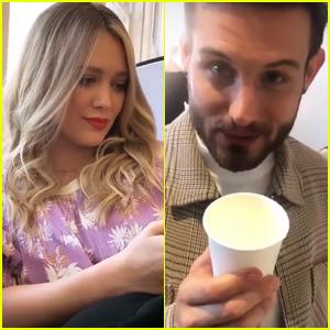Nico Tortorella Drinks Hilary Duff's Breast Milk
