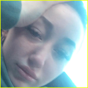 Noah Cyrus Shares Tearful Selfie Following News of Ex Lil Xan Expecting First Child With Fiancee