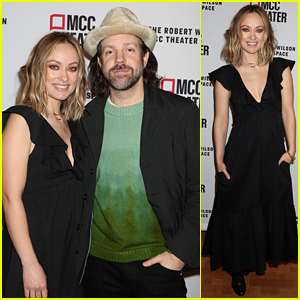 Olivia Wilde & Jason Sudeikis Couple Up for Date Night at 'Alice By Heart' Opening