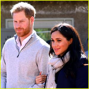 Prince Harry Jokes 'Is It Mine?' When Asked About Meghan Markle's Pregnancy (Video)