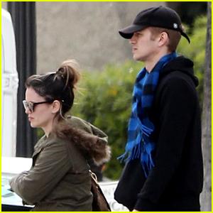 Rachel Bilson & Hayden Christensen Reunite in Los Angeles
