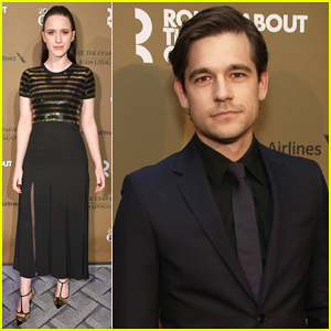 Rachel Brosnahan & Jason Ralph Couple Up at Roundabout Gala Honoring John Lithgow!