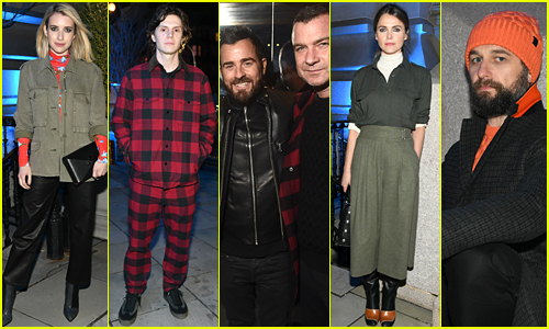 Emma Roberts, Evan Peters, Justin Theroux, & More Attend rag & bone's Star-Studded Last Supper