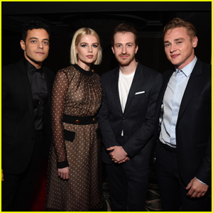 Rami Malek, Lucy Boynton & 'Bohemian Rhapsody' Cast Win Big at AARP's Movies for Grownups Awards